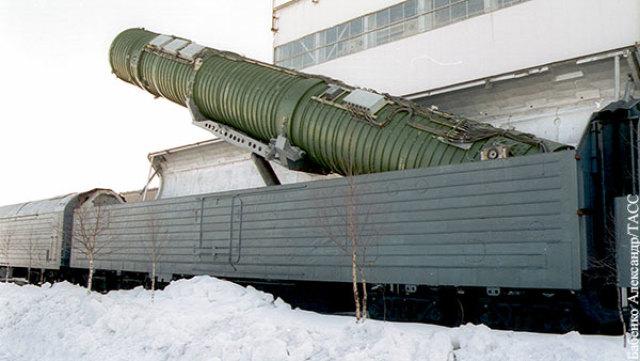 Возможно, пуск ракеты с железной дороги будет эффективней, чем «с грунта»