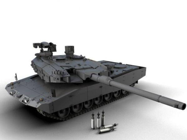 Возможный облик танка MGCS