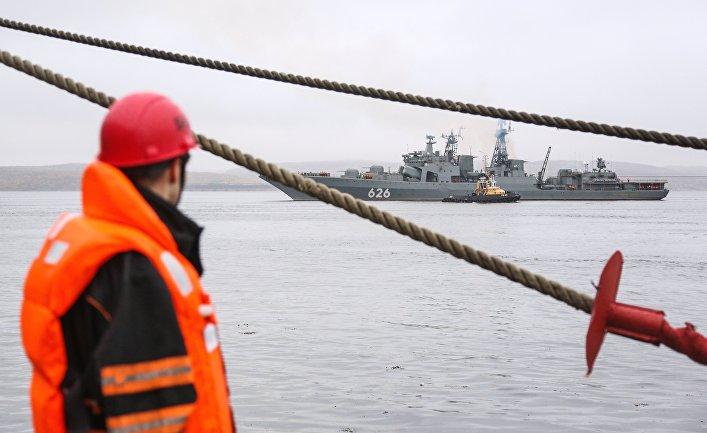 Северный флот построил в Тикси общежитие и столовую для военных из нового соединения ПВО