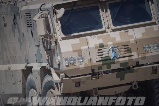 Китайский бронеавтомобиль VP22.