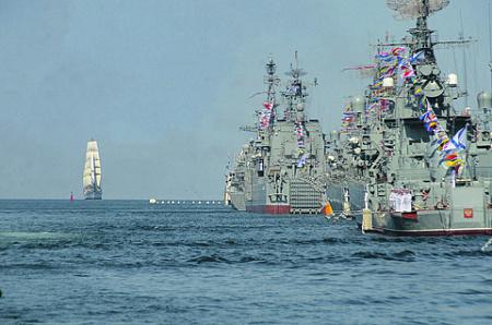 Впервые за постсоветское время Черноморский флот выходит на передовую противостояния с НАТО. Фото со страницы Министерства обороны РФ в «ВКонтакте»