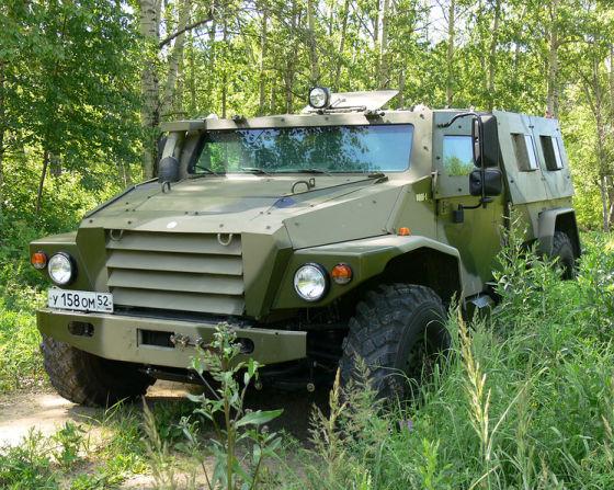 """Автомобиль ВПК-3927 """"Волк"""""""
