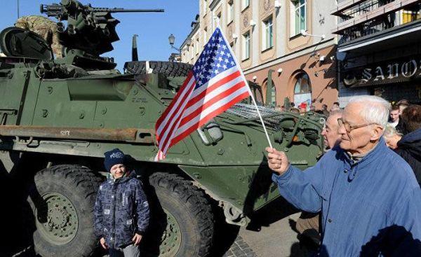 ВС НАТО в Польше