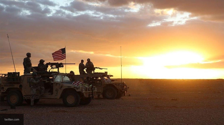 ВС США в Сирии.