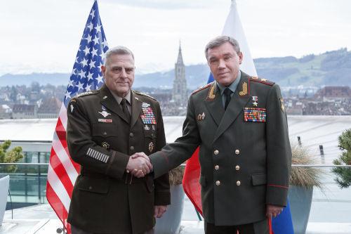 Встреча Герасимова и Милли