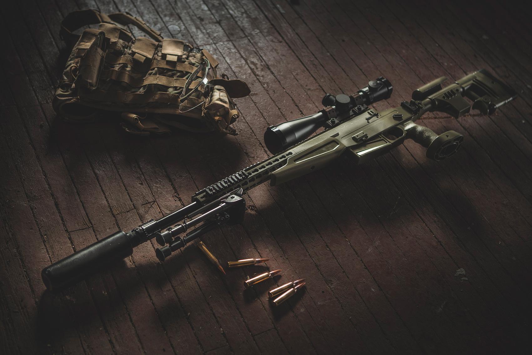 Модульная высокоточная снайперская винтовка ВСВ-338.