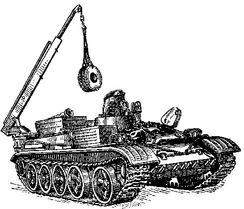 Танковый тягач ВТ-55А