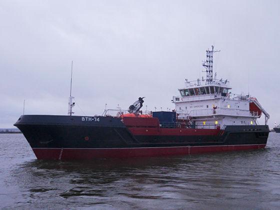 Судно ВТН-74 проекта 03180