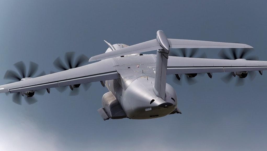Военно-транспортный самолет А400М.