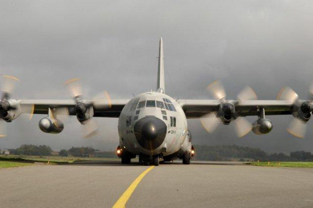 ВТС C-130H Hercules.