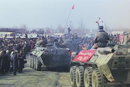 Вывод советских войск из Демократической Республики Афганистан.