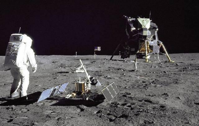 Высадка астронавтов США на Луну, 1969 год