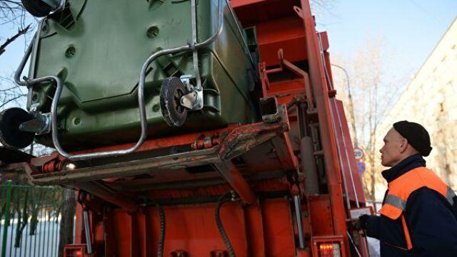 Вывоз отходов с контейнерной площадки на мусоросортировочный комплекс