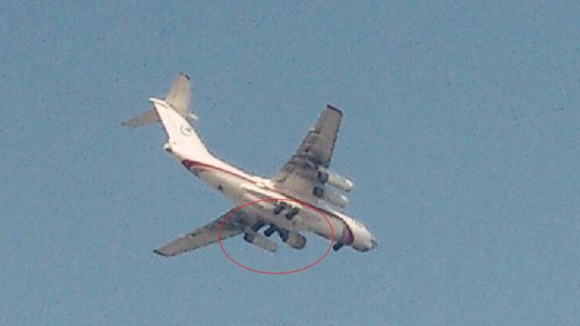 Летные испытания ТРДД WS-20 на летающей лаборатории Ил-76.