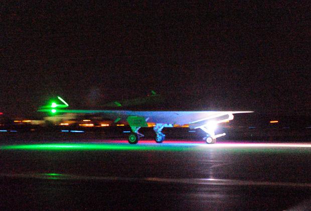 Палубный беспилотный летательный аппарат ─ демонстратор технологий X-47B UCAS-D.