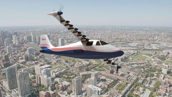 Самолет X-57