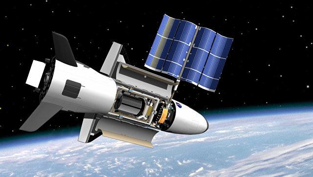 Американский беспилотный космический аппарат X-37 Orbital Test Vehicle.