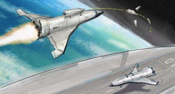DARPA инициировала разработку легкой многоразовой системы XS-1 Xs-1.t