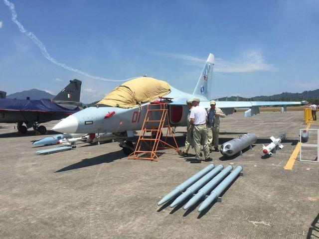 Як-130 на выставке LIMA 2019