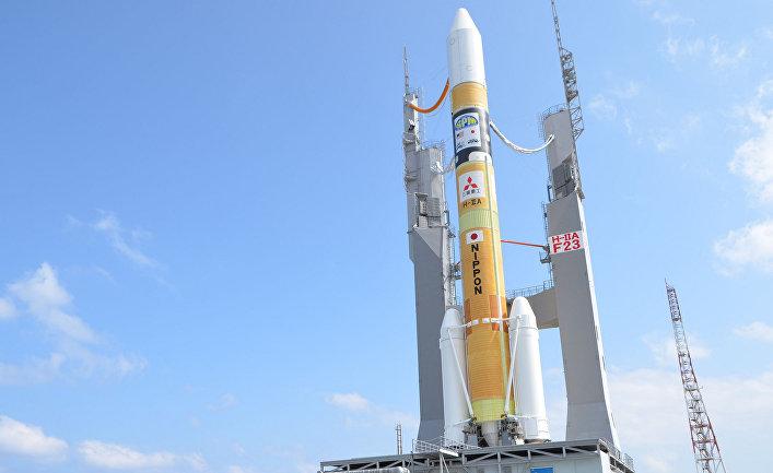 Японская ракета H-IIA.