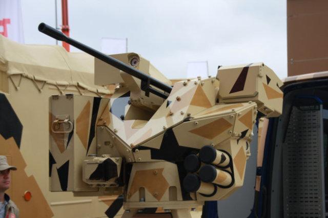 Южноуральский боевой модуль может прицелиться за пять километров.