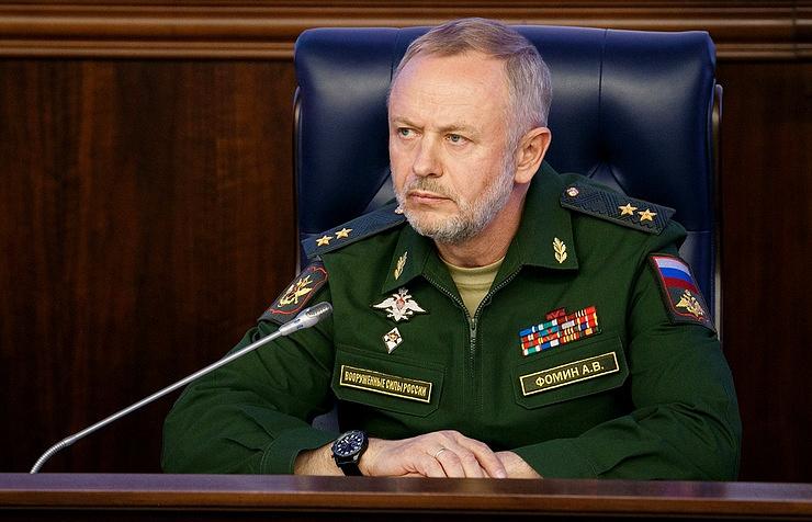 Заместитель министра обороны РФ Александр Фомин.