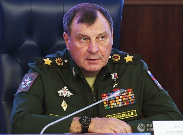 Заместитель министра обороны РФ генерал армии Дмитрий Булгаков. Архивное фото