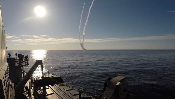 Запуск ракет Булава