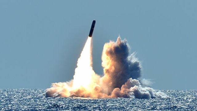 Запуск ракеты Trident II D5