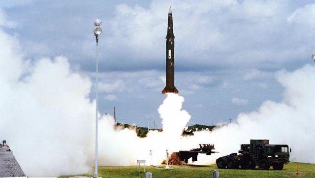 """Запуск ракеты """"Першинг-2"""""""