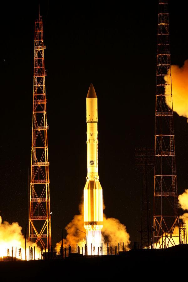 """Запуск с космическим аппаратом """"Космос-2520"""""""