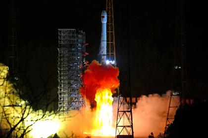 Запуск с космодрома Сичан