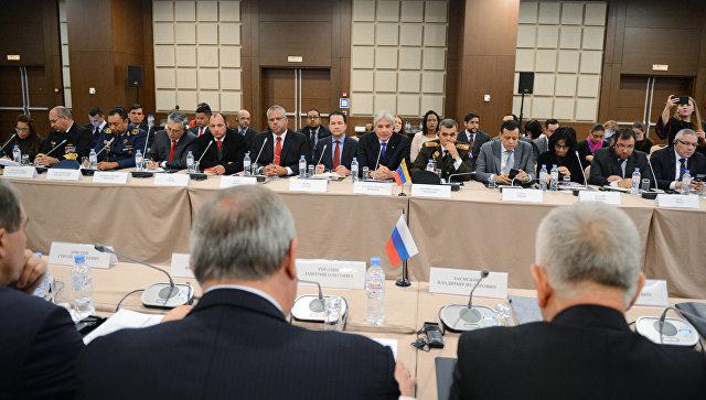 Заседание Межправительственной российско-венесуэльской комиссии высокого уровня. 24 ноября 2017.