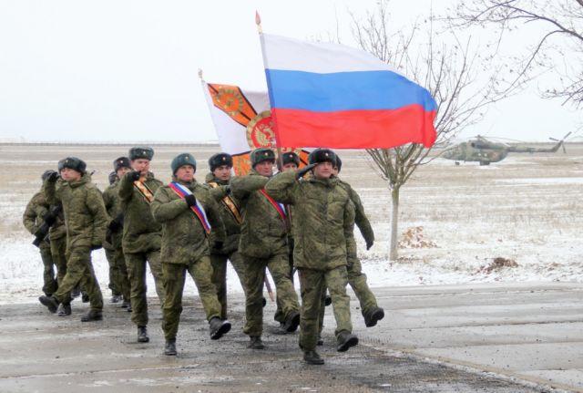Заступление на боевое дежурство развернутого в Джанкое (Крым) второго дивизиона ракетной системы С-400 из состава 18-го гвардейского зенитного ракетно