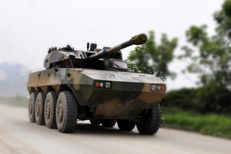 Китайская самоходная артиллерийская установка ZBL-09.