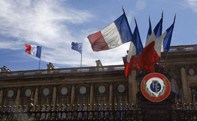 Здание министерства иностранных дел в Париже, Франция