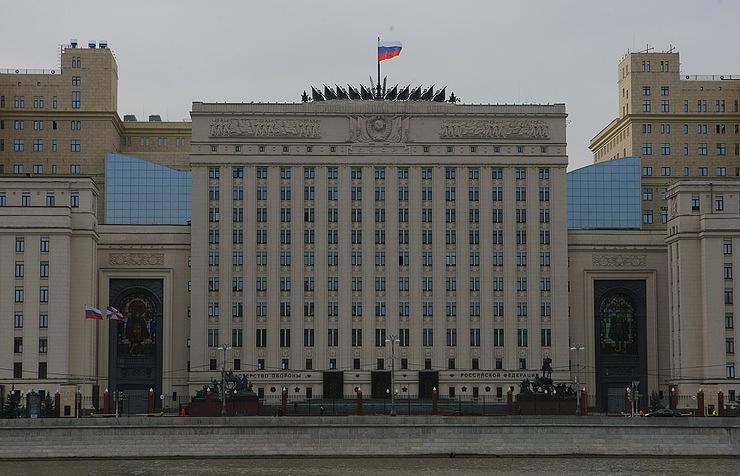 Здание Минобороны РФ.