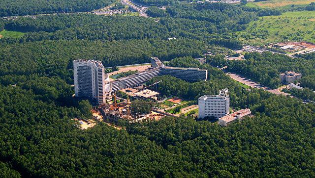 Здание штаб-квартиры СВР в Москве. Архивное фото