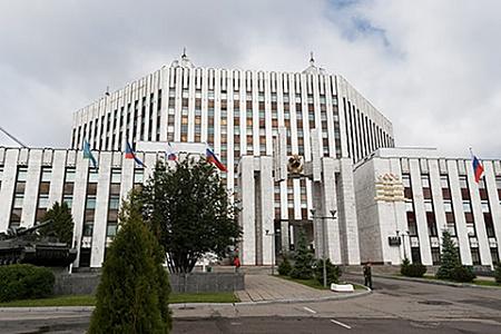 Здание военной академии Генерального штаба Вооруженных сил России (ВАГШ).