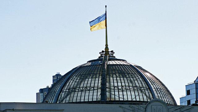 Здание Верховной Рады Украины. Архивное фото.