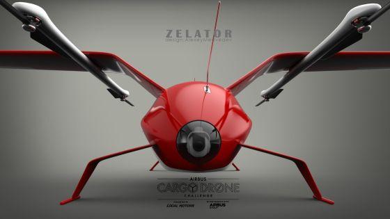 Концепт БЛА Zelator-28