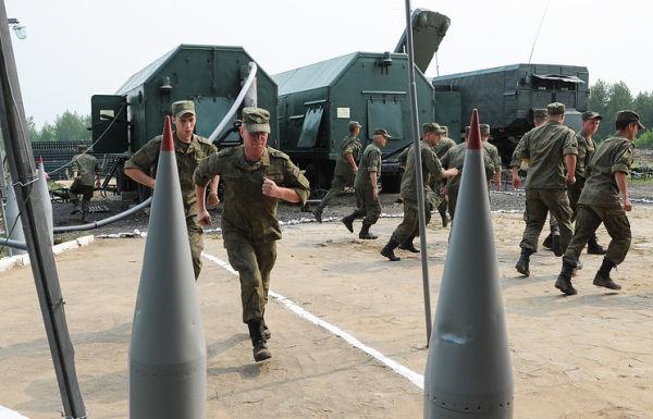 Зенитчики Восточного военного округа (ВВО)