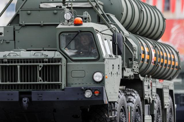 Зенитная ракетная система С-400.