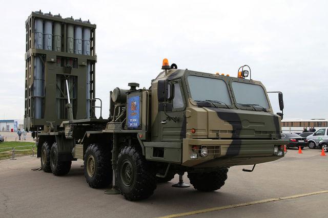 """Зенитная ракетная система средней дальности С-350 """"Витязь"""""""