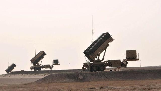Зенитно-ракетные комплексы Patriot ПВО Саудовской Аравии