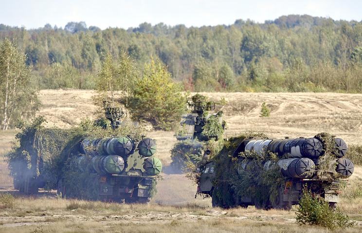 Зенитно-ракетные системы С-300.