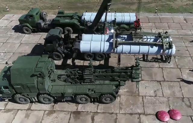Зенитные ракетные комплексы С-400