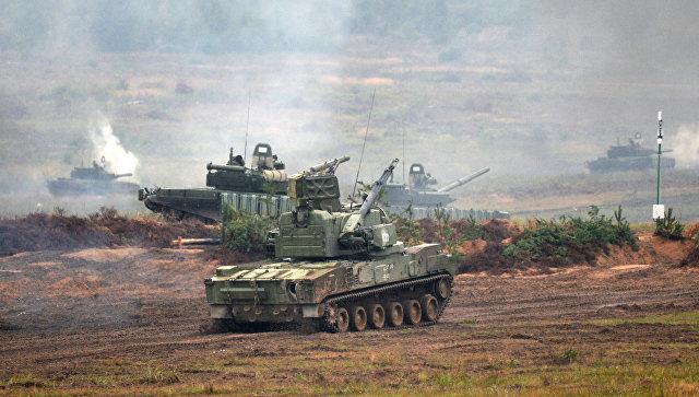 Зенитный пушечно-ракетный комплекс 2С6 Тунгуска. Архивное фото.