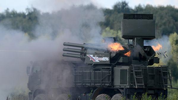 """Зенитный ракетно-пушечный комплекс 96К6 """"Панцирь-С1"""""""