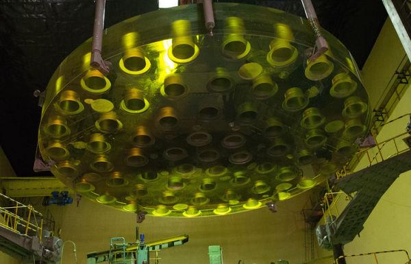 Зеркало телескопа БТА (Большой телескоп азимутальный)